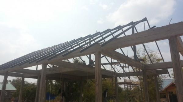 タイの田舎に家を建てる その6