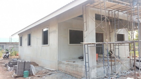 タイの田舎に家を建てる その11