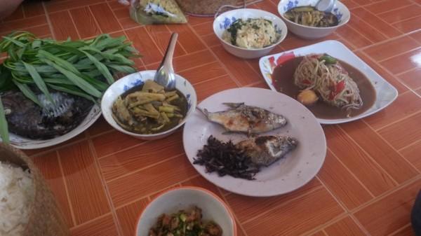 タイの珍味 正月料理 タイの食べ物
