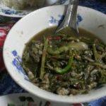タイの珍味 おたまじゃくし ルークゴップ タイの食べ物