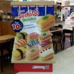 ミスタードーナツで寿司を買ってみた food
