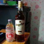 タイのラム酒 Sang Som タイの食べ物