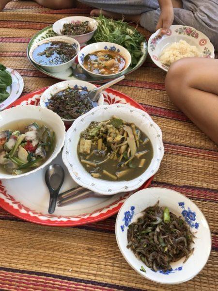 タイの珍味 牛の胎盤ノーンクワーイ タイの食べ物