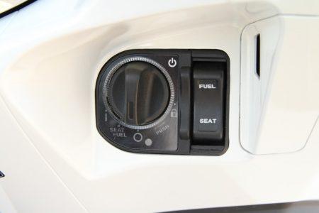 HONDA PCX タイ仕様のイグニションスイッチ