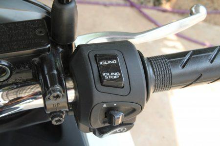 HONDA PCX タイ仕様のアイドリングストップ