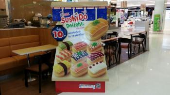 ミスタードーナツで寿司を買ってみた タイの食べ物